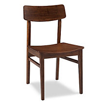 Zenith Solid Bamboo Armless Chair, 8806976