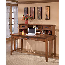 Home Office Short Desk Hutch, 8825561