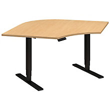 "Series C Elite Height Adjustable Corner Desk - 48"" x 48"" x 30"", 8808114"