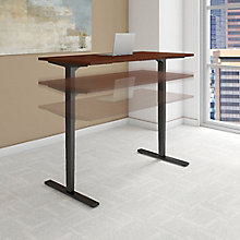"Adjustable Height Desk 60""W x 24""D, 8825633"