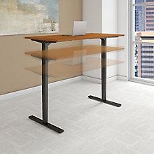 "Adjustable Height Desk 60""W x 24""D, 8825633"