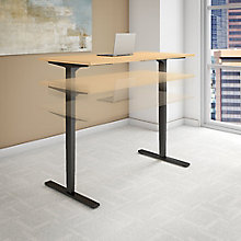 "Series C Elite Height Adjustable Desk - 72""W x 24""D, 8808103"