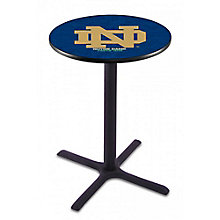 "College Logo X-Base Table - 28""DIA x 36""H, 8814213"