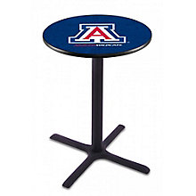 "College Logo X-Base Table - 28""DIA x 42""H, 8814214"