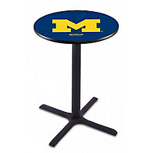 "College Logo X-Base Table - 36""DIA x 42""H, 8814215"