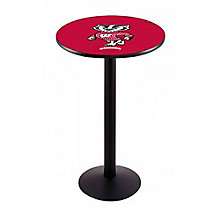 "College Logo Disc Base Table - 28""DIA x 42""H, 8814218"