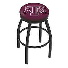 "College Logo Stool with Vinyl Seat - 25""H, 8814211"