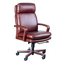 High Back Leather Executive Chair, HIG-101