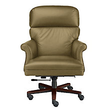Leaders Traditional Leather Executive Chair, HIG-191