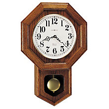 Katherine Oak Wall Clock, HOM-620-112