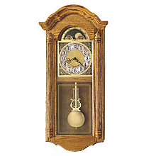 Fenston Golden Oak Wall Clock, HOM-620-156