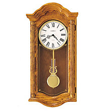 Lambourn II Oak Wall Clock, HOM-620-222