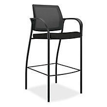 HON Ignition Cafe Stool in Fabric and Mesh, HNC-10465
