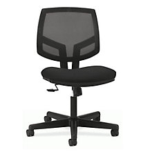 HON Volt Armless Fabric and Mesh Computer Chair with Synchro Tilt, HNC-10519