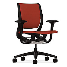 HON Purpose Fabric Task Chair with Adjustable Arms, 8813826