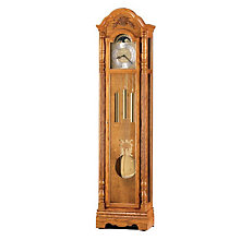 Golden Oak Joseph Floor Clock, HOM-610-892