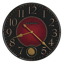 Harmon Warm Charcoal Wall Clock, HOM-625-374