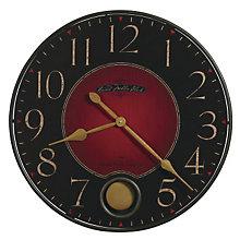 Harmon Warm Charcoal Wall Clock, HOM-625-374