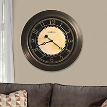 Chadwick Antique Brass Wall Clock, HOM-625-462
