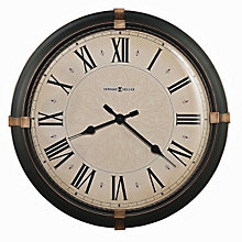 Atwater Wall Clock with Dark Bronze Finish, HOM-625-498