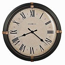 Atwater Wall Clock with Dark Bronze Finish, HOM-625-498
