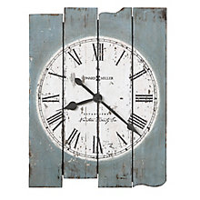 "Mack Plank Wall Clock - 23""W, 8822934"