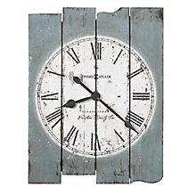 """Mack Plank Wall Clock - 23""""W, 8822934"""