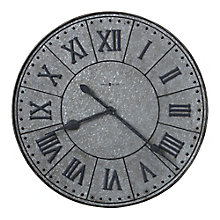 "Manzine Wall Clock with Roman Numerals - 32""DIA, 8822935"