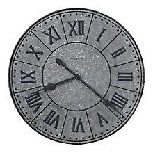 "Manzine Wall Clock with Roman Numerals - 32""DIA, 8822935"
