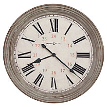 "Nesto Wall Clock with Roman Numerals - 30.75""DIA, 8822936"