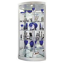 "Gillian II Six Shelf Corner Curio - 79.5""H, 8822929"