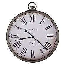 "Pocket Watch 30""W Wall Clock, 8801552"