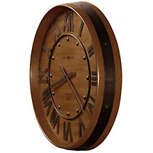 "Wine Barrel 25""Dia Wall Clock, 8801555"