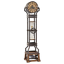"Hourglass 77.5""H Floor Clock, 8801562"