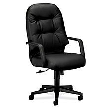 Pillow Soft High Back Leather Executive Chair, HON-2091T