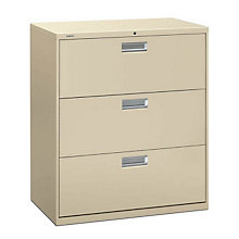 "3 Drawer 36"" Wide Heavy Duty File, HON-683L"
