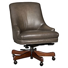 Seven Seas Traditional Armless Chair in Leather, HOO-10868