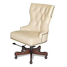 Seven Seas Hourglass Executive Chair in Leather, HOO-10870