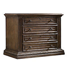 "Rhapsody 30.75""H Rustic Two Drawer File, 8814414"