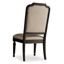 Corsica Mediterranean Armless Chair in Fabric, 8802668