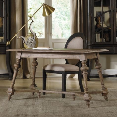 Shown with writing table