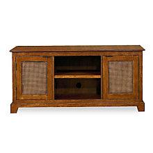 Soft Mahogany Widescreen TV Stand, HOT-5535-12