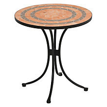 Outdoor Terra Cotta Bistro Table, HOT-5603-34