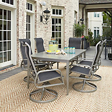 7 Pc Rect Outdoor Dining Set, 8827049