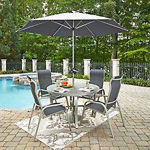 7 Pc Rd Outdoor Dining Set, 8827045