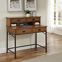 "Modern Craftsman Student Desk with Hutch - 42"", 8802223"