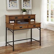 "Modern Craftsman Student Desk with Hutch - 42"", 8802223"