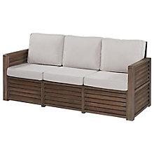 Barnside Polyester Indoor or Outdoor Three Seat Sofa, 8814027