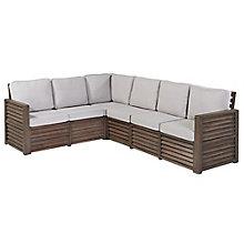 Barnside Polyester Indoor or Outdoor Corner L Sofa, 8814028