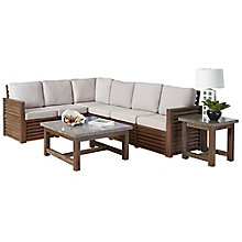 Barnside Polyester Indoor or Outdoor L Sofa, Coffee Table and End Table, 8814032